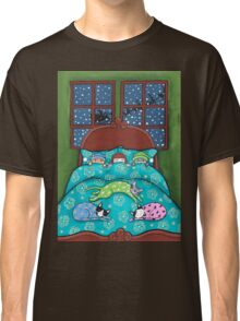 Bedtime With Cats Classic T-Shirt
