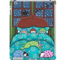 Bedtime With Cats iPad Case/Skin