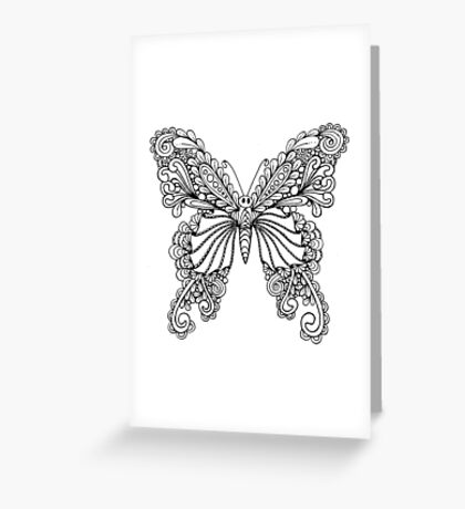 Tanglefly Greeting Card