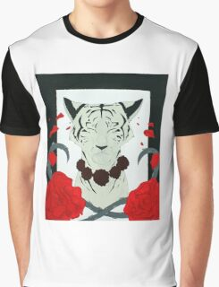 White Tiger Graphic T-Shirt