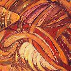 Earth Light Tapestry IX by Randall Talbot