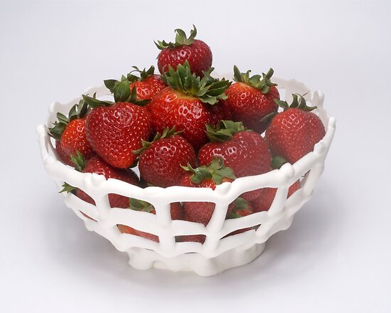 Strawberries in an Eatable Bowl by wolftinz