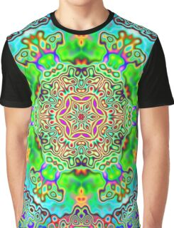 Psychedelic Panda Graphic T-Shirt