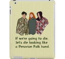 Peruvian Folk Band iPad Case/Skin