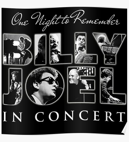 BILLY JOEL CONCERT Poster