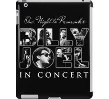BILLY JOEL CONCERT iPad Case/Skin