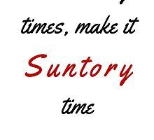 Lost in Translation - Suntory Time by PamelaMcQuillan