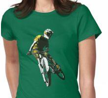 Mountain Biker v.1 Womens Fitted T-Shirt