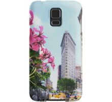 Flatiron in Full Bloom Samsung Galaxy Case/Skin