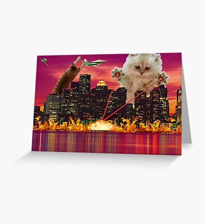 Cat Dooms Day Greeting Card