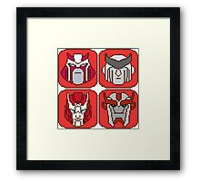 Pixel Ratchet[s] Framed Print