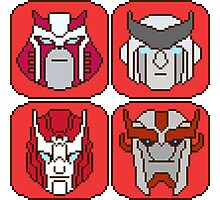 Pixel Ratchet[s] Photographic Print