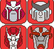 Pixel Ratchet[s] by tralma