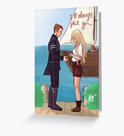 I'll always pick you Greeting Card