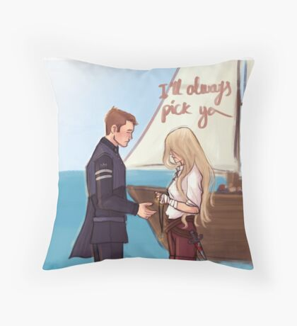I'll always pick you Throw Pillow