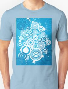 Colorful Modern Abstract Geometric Circle Pattern T-Shirt