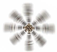 Spark plug art by Martyn Franklin