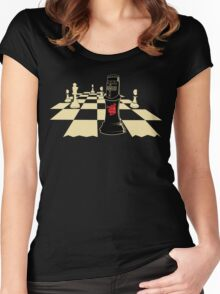 none shall pass Women's Fitted Scoop T-Shirt