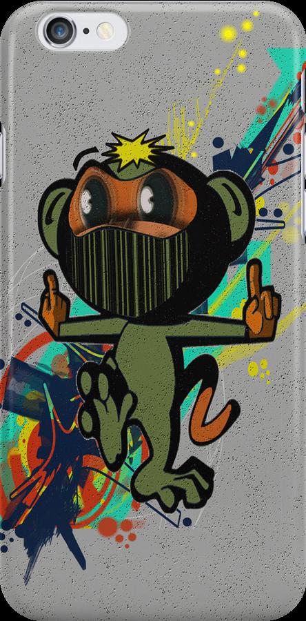 ninja monkey by geot