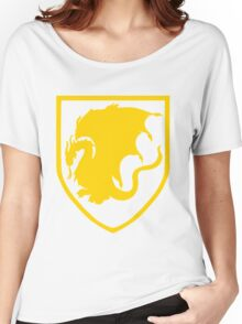 Pendragon crest v2 Women's Relaxed Fit T-Shirt