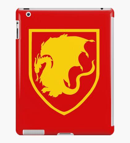 Pendragon crest v2 iPad Case/Skin