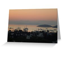 Sunrise @ Turkbuku Greeting Card