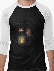 Blink Back  Men's Baseball ¾ T-Shirt