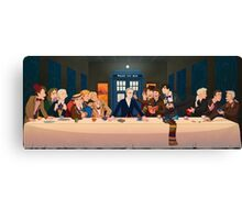 Last Tea & Biscuits - Doctor Who Canvas Print