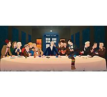 Last Tea & Biscuits - Doctor Who Photographic Print