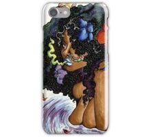 Galactic flower  iPhone Case/Skin