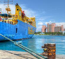 Bahamian MailBoat | iPad Case by Jeremy Lavender Photography