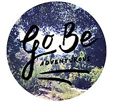 Vintage Camping Adventure Wanderlust Typography Photo Photographic Print