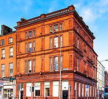 Dublin Cavendish Row on Parnell Square by Mark Tisdale