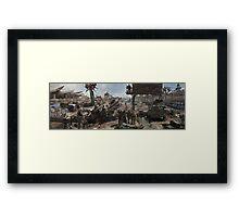 Fallout Framed Print