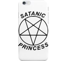 Satanic Princess iPhone Case/Skin