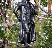 Spain. Madrid. Monument to Goya. by vadim19