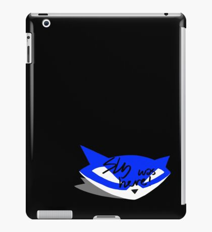 Sly was here! iPad Case/Skin