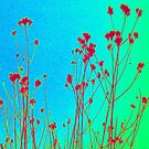 Wall Flowers iPad Case by Fara
