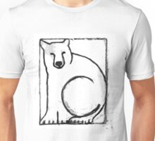 Black and White Bear Painting Unisex T-Shirt