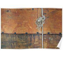 Detail Viking Ship Poster