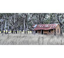On the Road to Cassilis NSW Australia Photographic Print