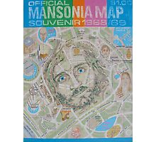 Mansonia Map Photographic Print