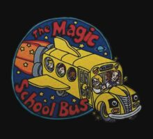 The Magic School Bus by zachattacker