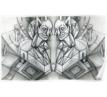 Gargoyle Duo Poster