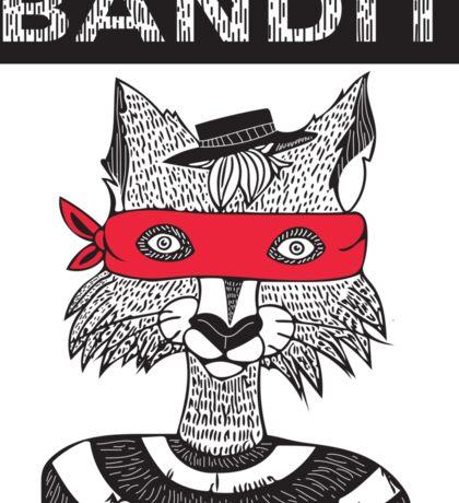 Bandit Brothers: Fox Sticker