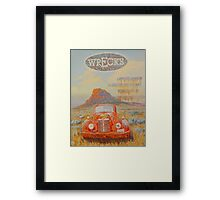 Wrecks Framed Print