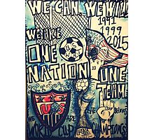 USA SOCCER Photographic Print