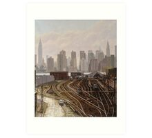 Manhattan Project Art Print