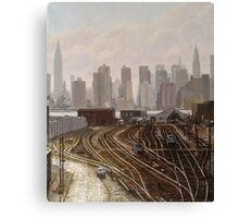 Manhattan Project Canvas Print