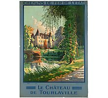 Vintage poster - France Photographic Print